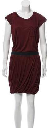 A.L.C. Short Sleeve Midi Dress Short Sleeve Midi Dress
