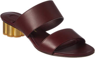 Salvatore Ferragamo Leather Sandal
