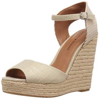 Lucky Brand Women's Rosayy Espadrille Wedge Sandal