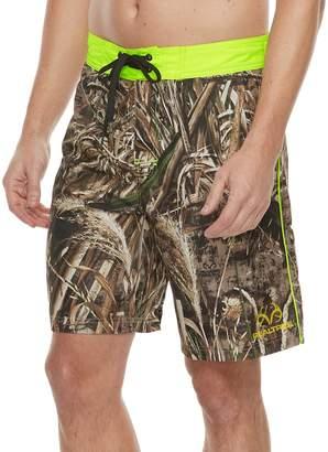 Trunks Men's Realtree Max-5 E-Board Shorts