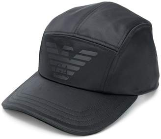 b00bb881 Emporio Armani panelled logo cap