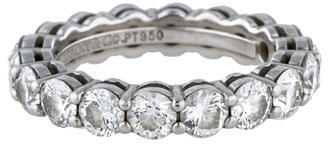 Tiffany & Co. Diamond Eternity Band $9,450 thestylecure.com