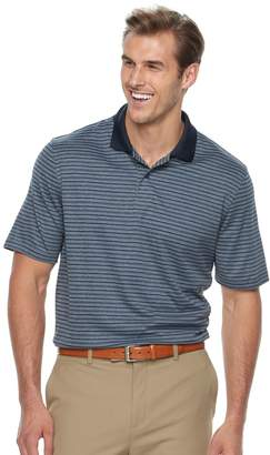 Croft & Barrow Big & Tall Cool & Dry Classic-Fit Striped Performance Polo