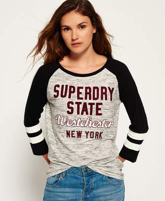 Superdry Football Applique Top
