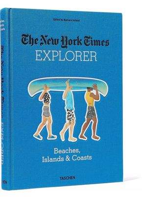 Taschen The New York Times Explorer: Beaches Islands And Coasts Hardcover Book