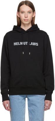 Helmut Lang Black Helmut Laws Hoodie
