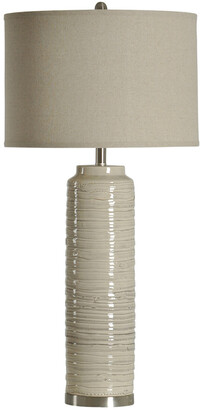 Stylecraft Style Craft Anastasia Ceramic Tall Table Lamp