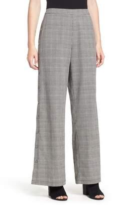 Lush Side Snap Menswear Pants
