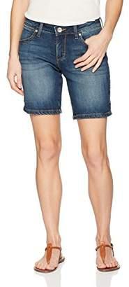 Wrangler Women's Aura Mid Rise Short
