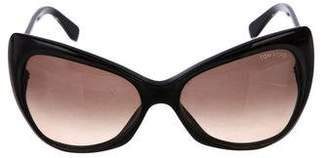 Tom Ford Butterfly Tinted Sunglasses