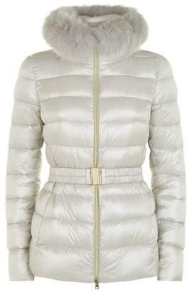 Herno Claudia Fur Trim Padded Jacket