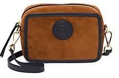 Fendi Women's Mini Suede Camera Bag