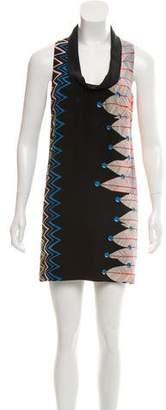 Tibi Shift Mini Dress
