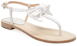 Kate Spade Serrano Bow Thong Sandal