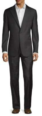 Hickey Freeman Standard-Fit Wool Suit