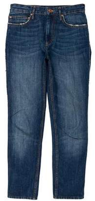 Isabel Marant Mid-Rise Skinny Jeans