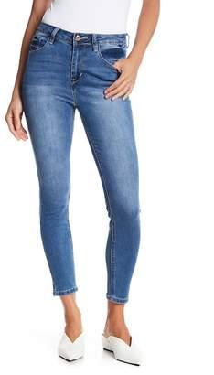 Kensie Clean High Rise Ankle Skinny Jeans