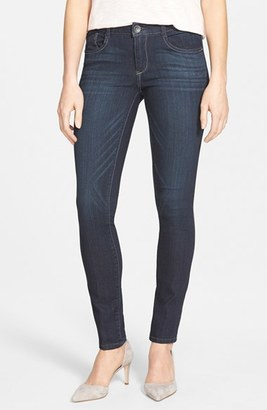 Women's Wit & Wisdom Super Smooth Stretch Denim Skinny Jeans $64 thestylecure.com