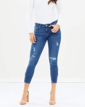 Oasis Rip and Repair Isabella Jeans