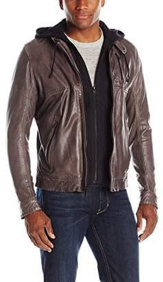 LAMARQUE Men's Leather Jacket