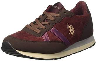 U.S. Polo Assn. Womens VIOLA4241W7/YT1 Low Trainers Red Size: