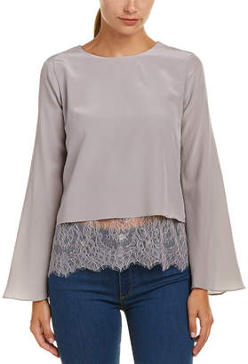 CAMI NYC Bell Silk Blouse