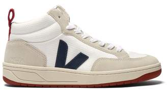 Veja Roraima High Top B Mesh Trainers - Womens - White Navy