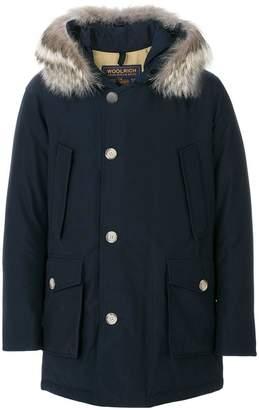 Woolrich fur hood coat