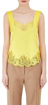 Givenchy WOMEN'S LACE-TRIM SILK CAMI