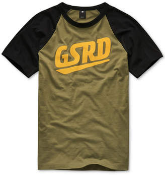 G Star Men Raglan Logo T-Shirt