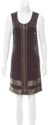 AllSaints Embellished Sleeveless Dress