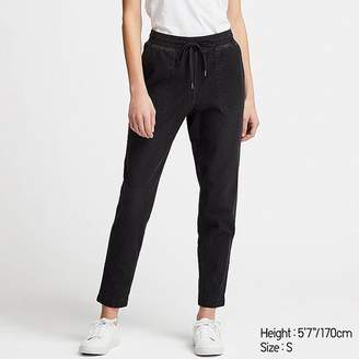 Uniqlo Women's Denim Jersey Tapered Pants