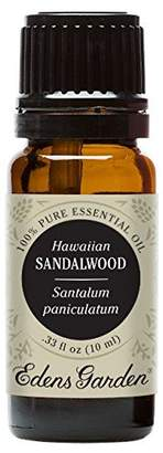 Edens Garden Sandalwood Hawaiian 10 ml 100% Pure Undiluted Therapeutic Grade Essential Oil GC/MS Tested
