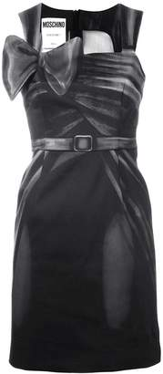 Moschino bow-detail fitted dress