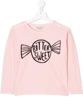 Bobo Choses candy logo print T-shirt