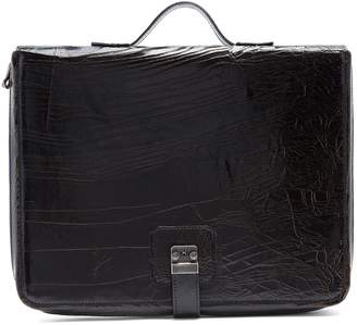 Marc Marmel Dux Pad cracked-leather document holder
