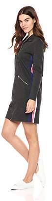 Lacoste Women's Long Sleeve Interlock Pique Multico Stripes Polo Dress