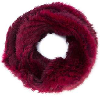 Jocelyn long haired infinity scarf