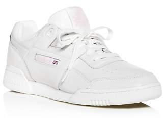 Reebok Women's Workout Plus Vintage Lace Up Sneakers