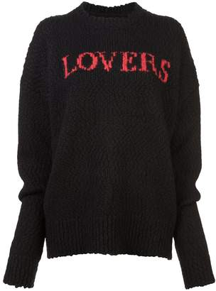 Amiri Lovers knit jumper