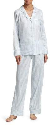 Saks Fifth Avenue COLLECTION Striped Pajamas Set