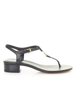 Michael Kors Cayla Leather Thong Sandals