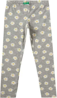 Benetton Girls Daisy Print Leggings