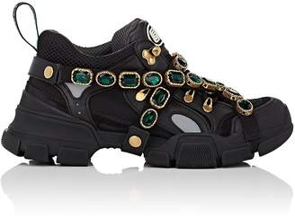 Gucci Men's Jeweled-Strap Sneakers