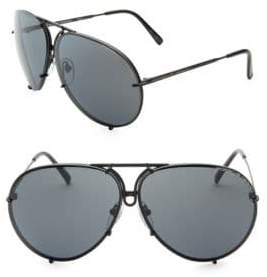 Porsche Design P'8478 69MM Interchangeable Aviator Sunglasses