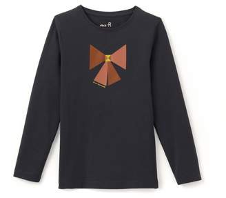 La Redoute Collections Bow Printed T-Shirt, 3-12 Years