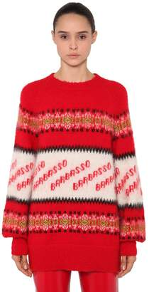 MSGM Oversized Barbasso Mohair Knit Sweater