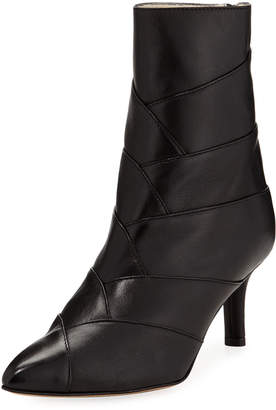 Amalfi by Rangoni Padova Wrapped-Leather Ankle Booties