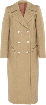 BLAZÉ MILANO Lady Anne Herringbone Wool Coat