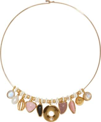 Lizzie Fortunato Rose Best Lady Necklace